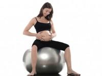 Exercice de posture travail accouchement